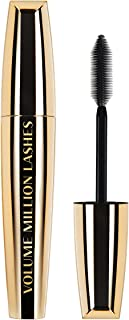 L'Oreal Paris Volume Million Lashes Mascara Black, Gives Lashes Intense, Defined Volume with No Clumps