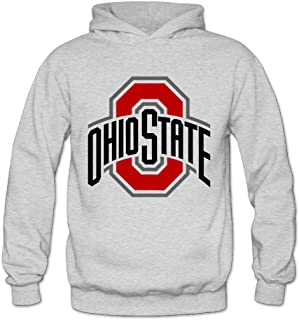 ITMEIAL Women's Ohio State Buckeyes Hooded Sweatshirt