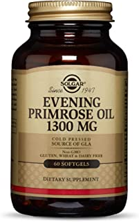 Solgar Evening Primrose Oil Supplement, 1300 mg, 60 Count
