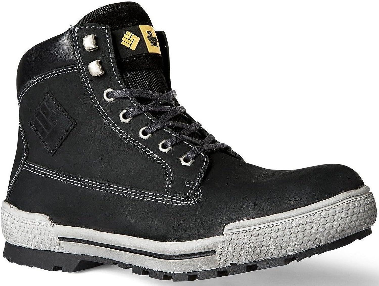 2work4 Sicherheitsschuh Panther Stiefel Nubuk Leder S3 Stiefel bis Größe 51 möglich  | Bekannt für seine gute Qualität
