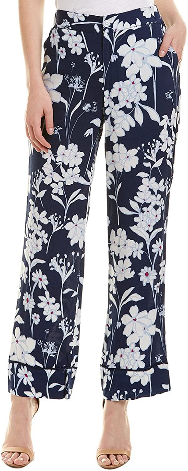 1.STATE Womens Flat Front Soft Pants