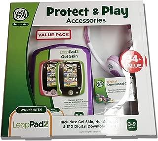 Leap Frog LeapPad Plug & Play Accessories Exclusive Purple Gel Skin, Headphones and Digital Download Card