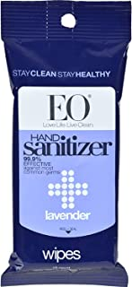 EO Cleansing Lavender Hand Wipes, 10 CT