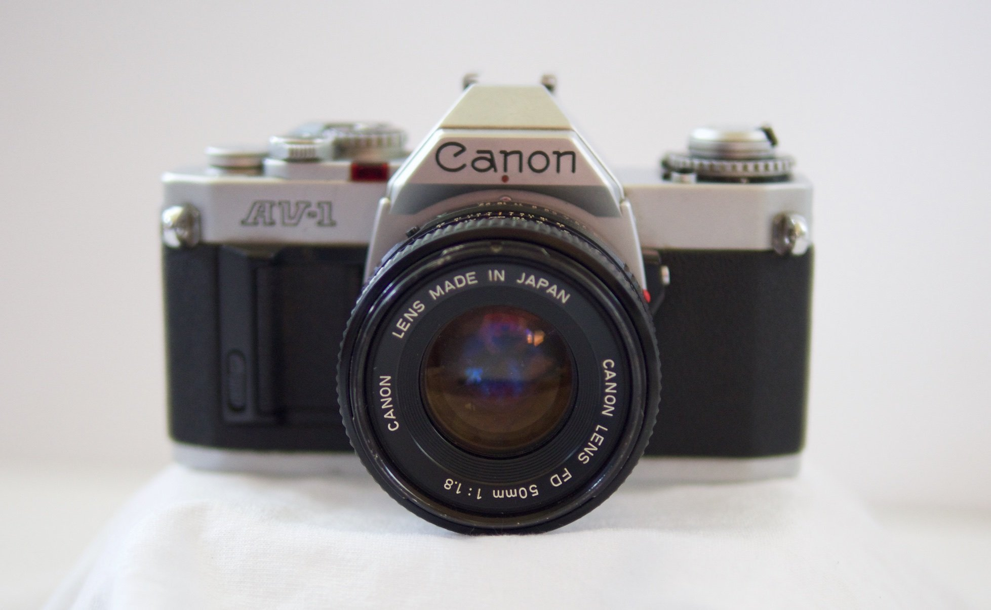 Canon AV1 AV-1 cámara SLR de película 35MM unidad Rebobinado nuevo CA1-1341-000