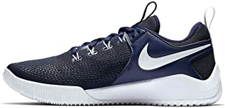 Women's Zoom HyperAce 2 Volleyball Shoes (8, Navy/White)