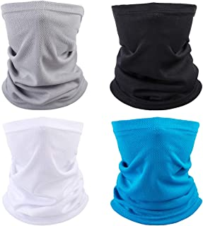 Sun UV Protection Neck Gaiter Bandanas Big Multi-Purpose Face Cover Dust Washable Balaclava Headwear Mask Infinity Scarf for Adult Women Men Summer