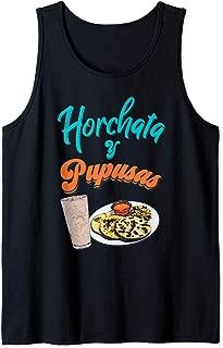 Horchata y Pupusas T-Shirt Camisa El Salvador Shirt Tank Top
