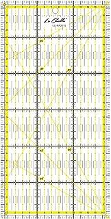La Canilla ® - Règle Patchwork 30x15cm Règle Universelle pour Tapis de Découpe Transparente avec Graduations en CM, MM et ...
