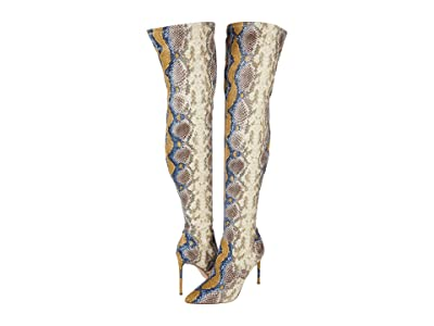 Steve Madden Viktory Over-the-Knee Boot (Multi Snake) Women