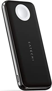 Satechi Quatro Wireless Power Bank – 10,000 mAh Portable Charger – Compatible with iPhone 11 Pro Max/11 Pro/11, Apple Watc...