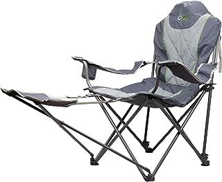 Portal Outdoors Unisex's opvouwbare draagbare campingstoel-trong, comfortabel en inclusief gratis draagtas-steunen tot 120...