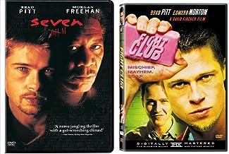Fight Club & Seven 7 DVD 2 Pack Action Movie Set Brad Pitt David Fincher
