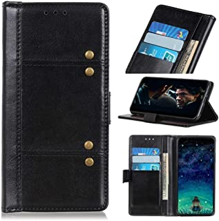 For Samsung Galaxy A01 Core Case, Premium PU Leather Stitching Style Phone Case, Flip Folio Stand Case with Kickstand/Cred...