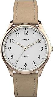 Timex dameshorloge, analoog, Easy Reader, armband van leer