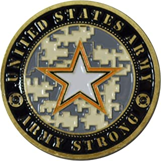 US Army Master Sergeant Challenge Coin