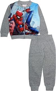 Spiderman Marvel Boys - Conjunto de chándal con cremallera