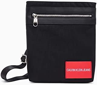 Calvin Klein Jeans Men's Sport Essential + Flat Pack, Black, One