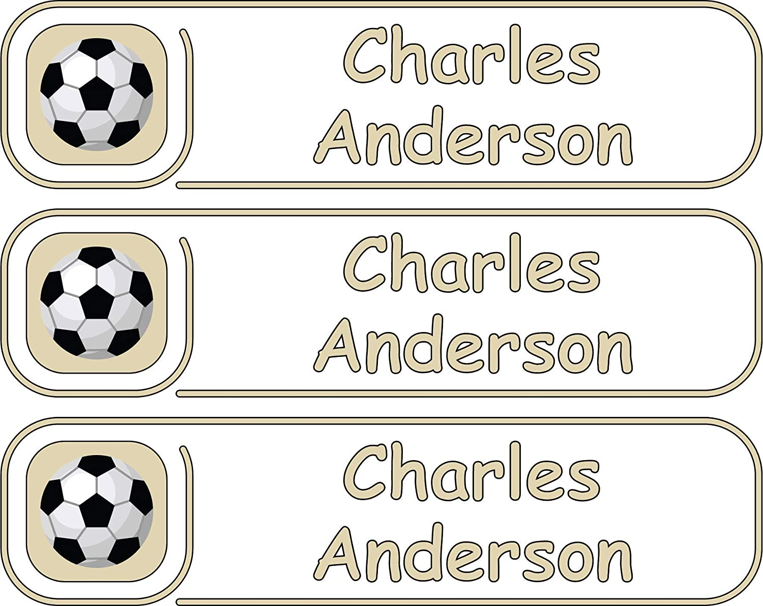 All-purpose Custom Name Labels Multiple Colors Safety and trust Sizes Outlet SALE Wate And