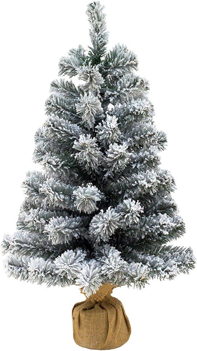 Albero Di Natale Amazon.Xone Pinetto Innevato 65 Cm Albero Di Natale Piccolo Amazon It Casa E Cucina
