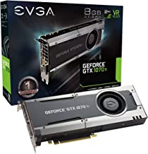 EVGA GeForce GTX 1070 Ti GAMING, 8GB GDDR5, EVGA OCX Scanner OC, White LED, DX12OSD Support (PXOC) Graphics Card 08G-P4-56...