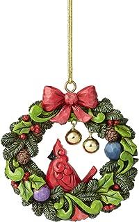 Enesco Jim Shore Heartwood Creek Legend of The Wreath Hanging Ornament, 4.25