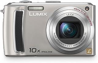 Panasonic DMC TZ4EG S Digitalkamera (8 Megapixel, 10 fach opt. Zoom, 6,4 cm (2,5 Zoll) Display, Bildstabilisator) silber
