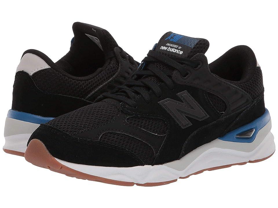 New Balance Kids GSX90Rv1 (Big Kid) (Black/Classic Blue) Boys Shoes
