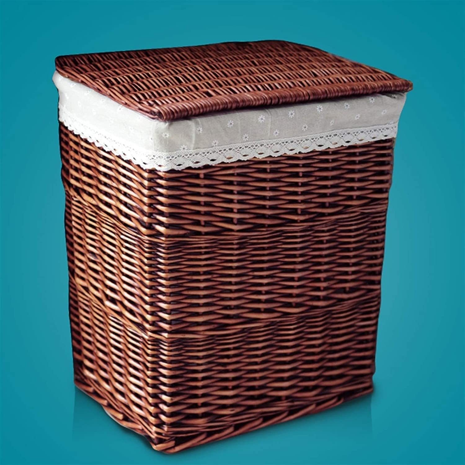 Import Rattan Hamper Large with Lid Dirty Woven Sales of SALE items from new works Basket Home Clo Clothes