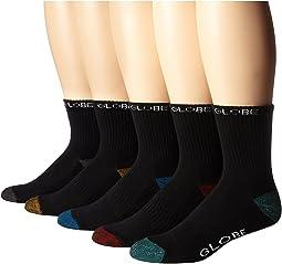 Globe - Ingles Crew Sock (5-Pack)