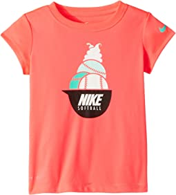 Nike Kids Softball Sundae Dri-FIT Short Sleeve Tee (Toddler)
