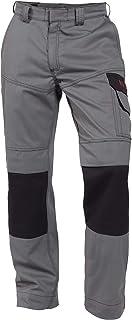 Dassy Lincoln Two Tone Welders Work Trousers - Flame retardant - Antistatic - Grey/Black