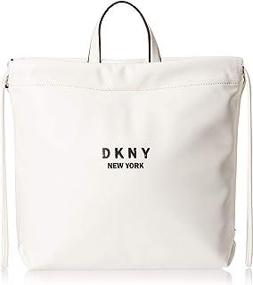 DKNY Women's Alex Drawstring Backpack Nappa Pu Shoulder Bag