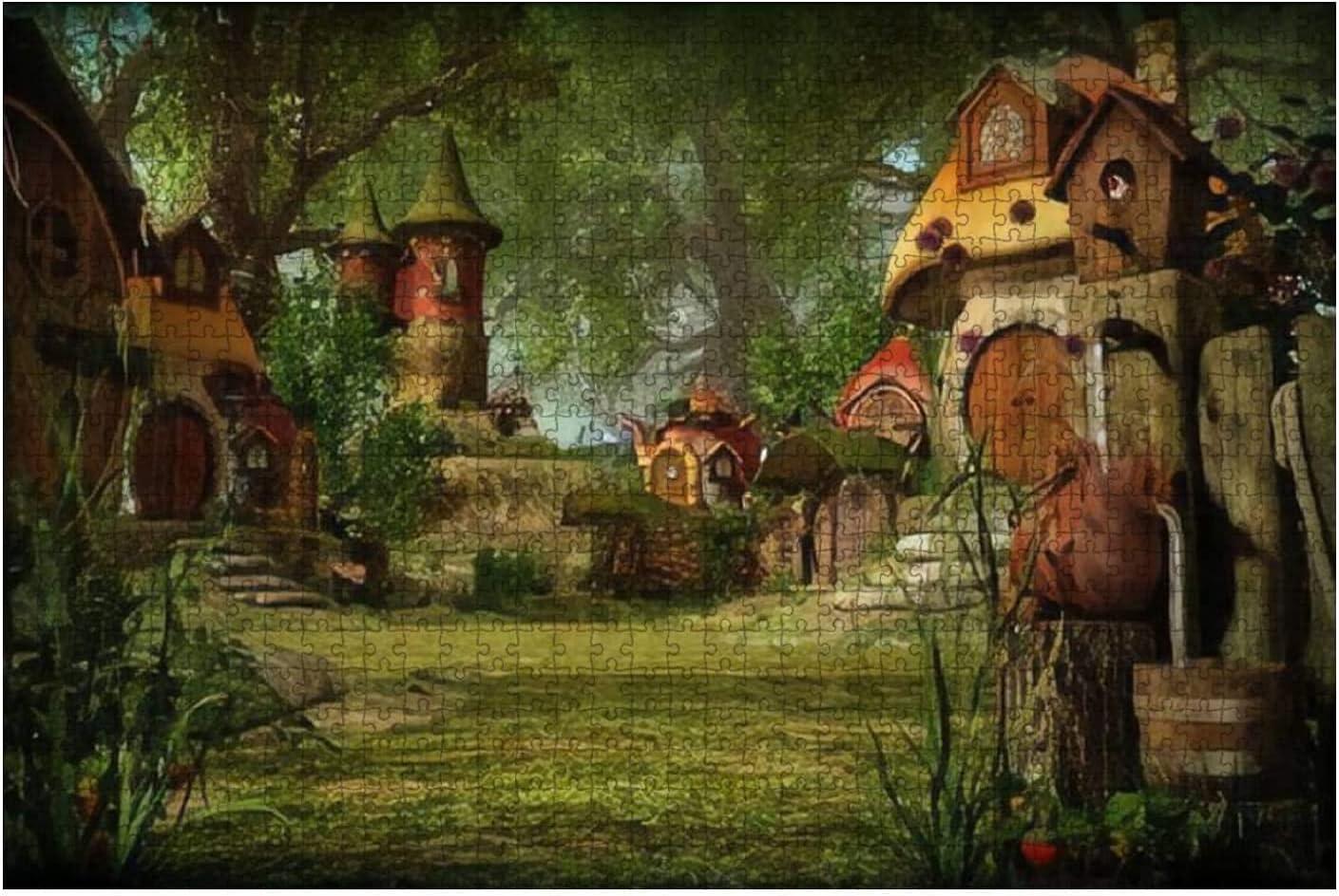 Bombing free shipping 1000 Pieces-Bilbo Baggins Home and Set Hobbit in Ranking TOP19 Garden Hobbiton
