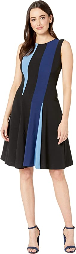 Sleeveless Color Block Dress