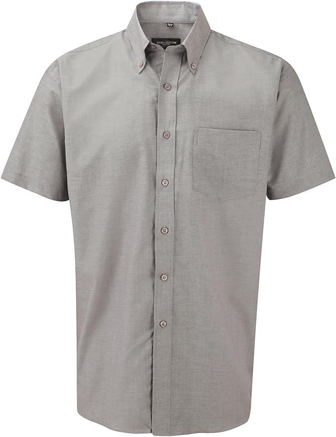 Russell Oxford Camisa de manga corta Easy Care