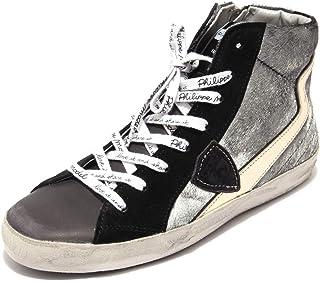 Philippe Model 2316AC Sneakers Donna Paris Eclair Silver Shoes Women