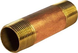 Everflow Supplies NPBR3040 10 cm długi mosiężny łącznik do sutków z 7,6 cm średnicy nominalnej i końcówek NPT