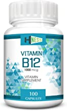Hness Methylcobalamin Vitamin B12 For Brain And Nervous Support - 100 Capsules
