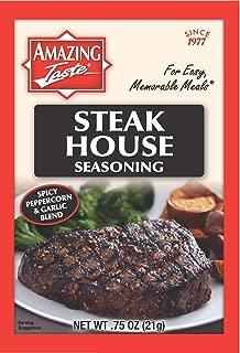 Amazing Taste Steakhouse Seasoning Bundle (10 Packets- .75 oz ea.)