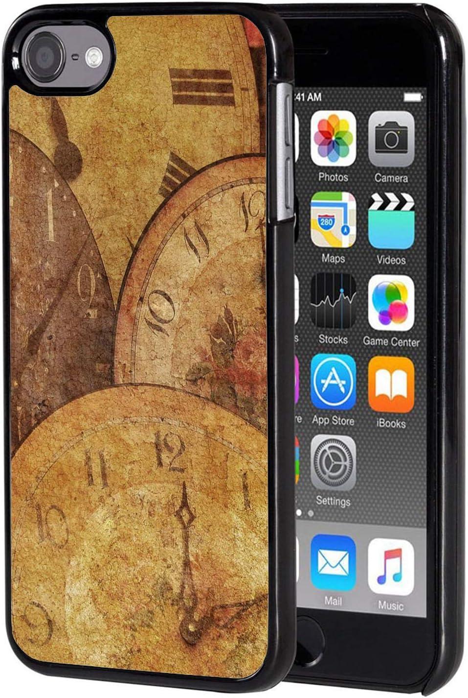 iPod Touch 6 Case Vintage Anti-Scratch Design Slim Clock Ranking ...