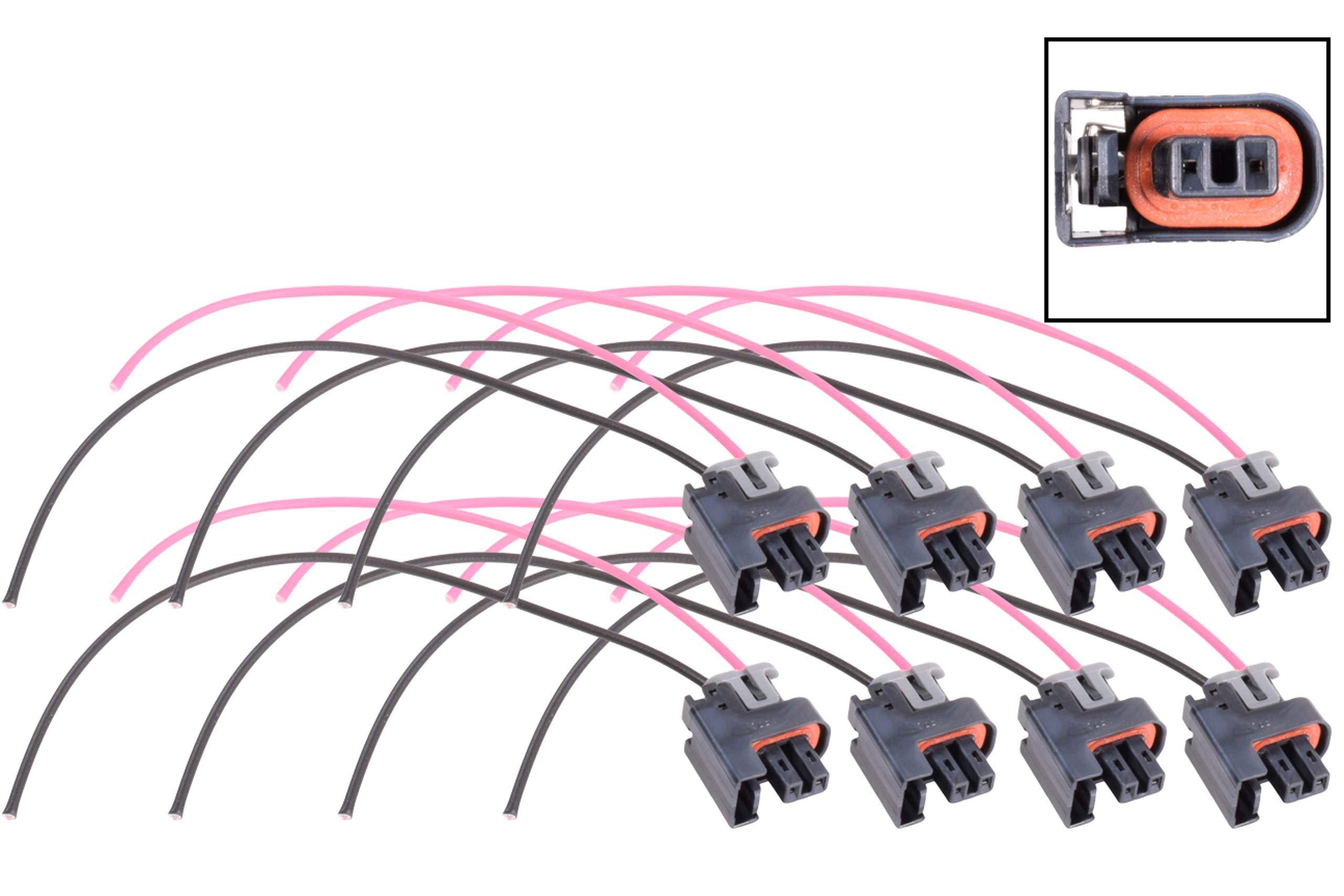 [DIAGRAM_3US]  Amazon.com: ICT Billet LS Truck Fuel Injector Wire Connector Pigtail Plug  Mini Delphi Multec 2 (8 pack) OEM Tooling, Connector, Lock, Seals,  Terminals WPINJ31X8: Automotive | Delphi Wiring Harness Connectors |  | Amazon.com