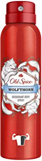 Old Spice Wolfthorn Deodorant Body Spray For Men, 150 ml