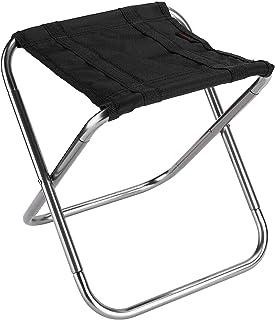 OUZHOU Vikbar stol bärbar hopfällbar stol utomhus hopfällbar pall liten hopfällbar sits aluminium campingstol med förvarin...