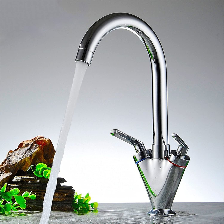 LHS Brass double handle kitchen sink tap,kitchen ,C