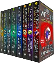 Witcher Series by Andrzej Sapkowski 8 Books Collection Set NETFLIX (The Last Wish, Sword of Destiny, Blood of Elves, Time ...