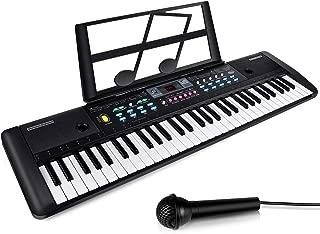 $49 » ZJTL 61-Key Digital Electric Piano Keyboard & microphone- Portable Electronic Keyboard (Kids & Adults) MQ-6112