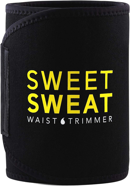 Over item handling Sweet Sweat Waist 55% OFF Trimmer Belt for , Trainer Premium