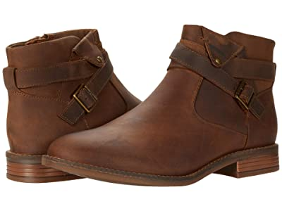Clarks Camzin Dime (Dark Tan Leather) Women