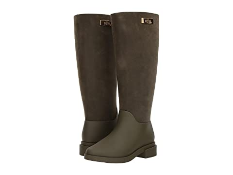 Long Boot Flocked Melissa Shoes 3kRUmWD