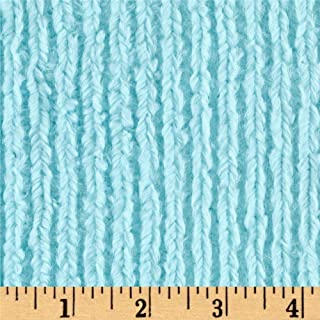 Shannon Fabrics Shannon Minky Luxe Cuddle Chenille Saltwater Fabric by The Yard